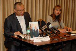 Прес-конференція Ярослава Пижинського 03.10.2013